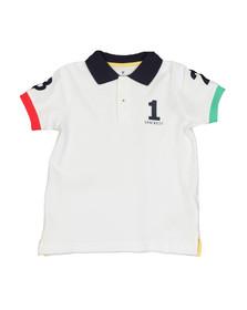 Hackett Boys White Boys Number Polo Shirt