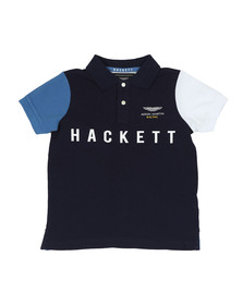 Hackett Boys Blue Boys AMR Multi Polo Shirt