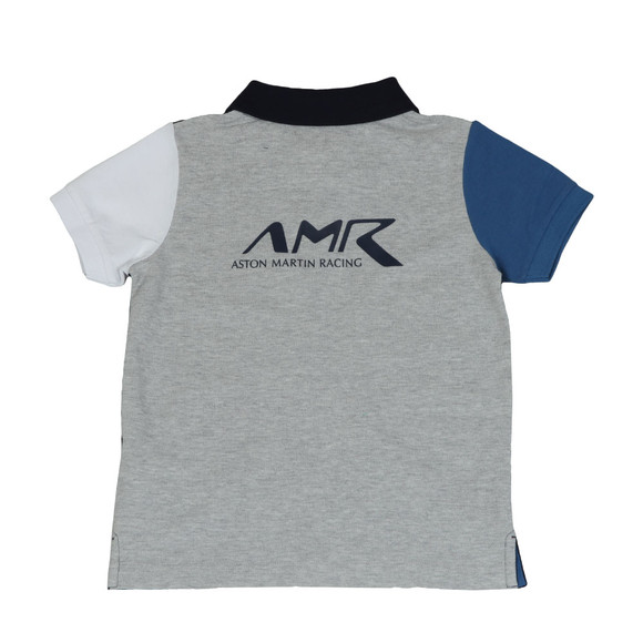 Hackett Boys Blue Boys AMR Multi Polo Shirt main image