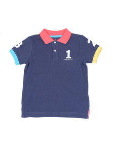 Hackett Boys Blue Boys Number Polo Shirt