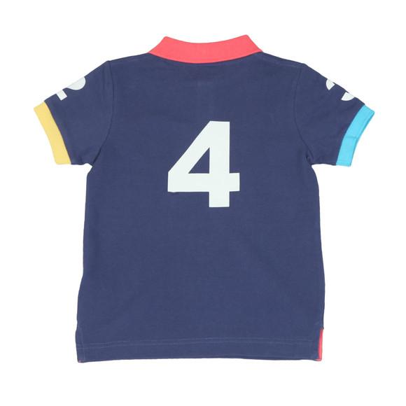 Hackett Boys Blue Boys Number Polo Shirt main image