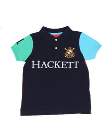 Hackett Boys Blue Boys HKT Multi Polo Shirt