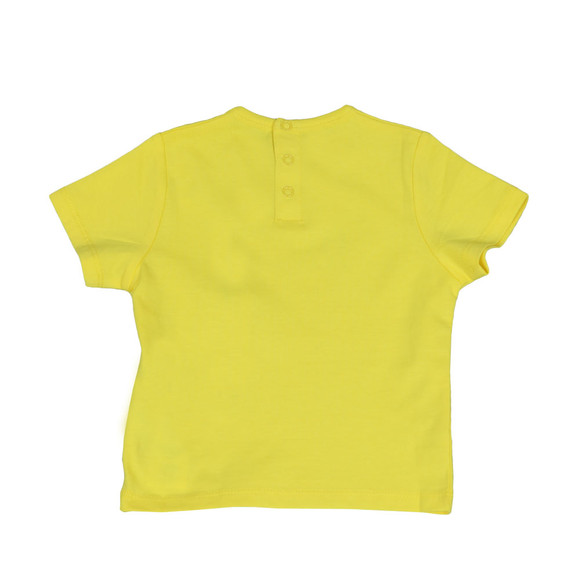 BOSS Loungewear Boys Yellow Baby J05611 Logo T Shirt main image