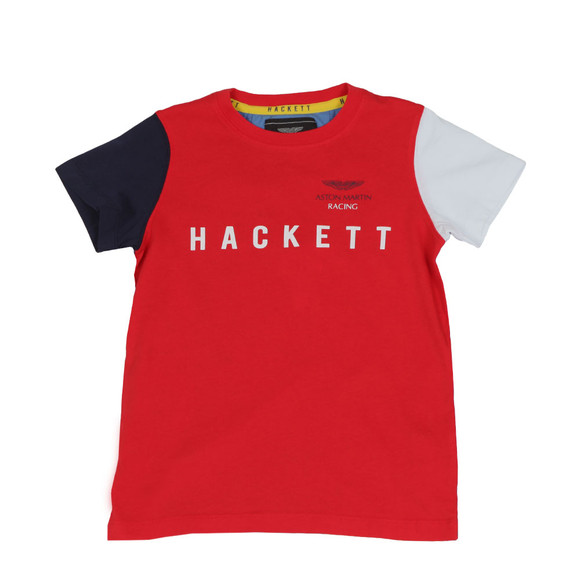 Hackett Boys Red Boys AMR Multi T Shirt main image
