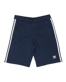 Adidas Originals Mens Blue 3 Stripes Sweat Short