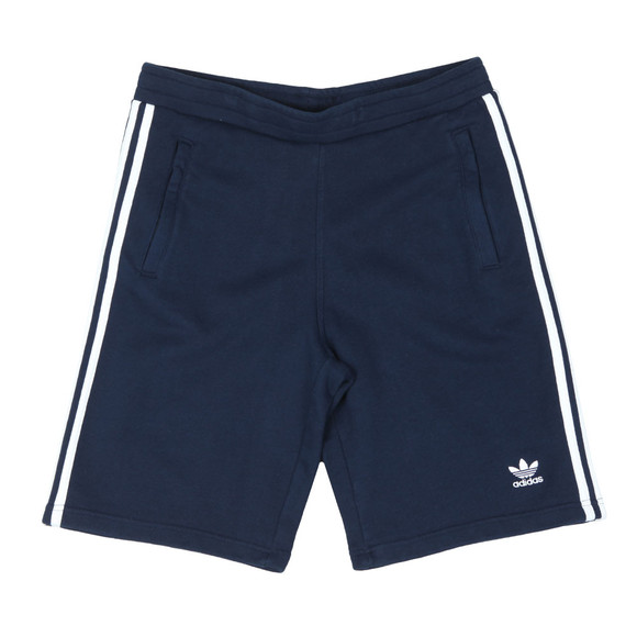 adidas Originals Mens Blue 3 Stripes Sweat Short main image