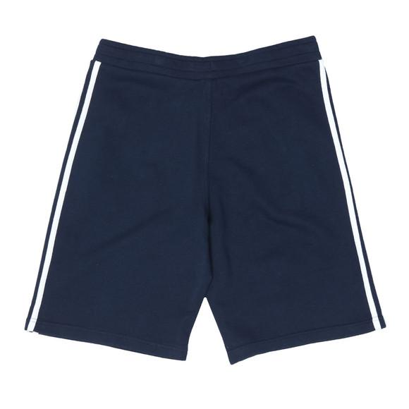 Adidas Originals Mens Blue 3 Stripes Sweat Short main image