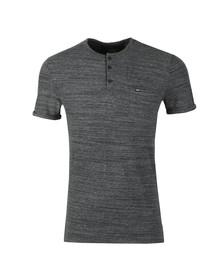 Superdry Mens Grey S/S Grandad Tee