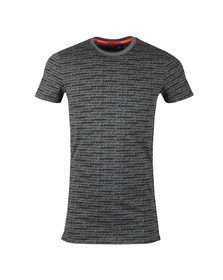 Superdry Mens Grey Gym Tech AOP Tee