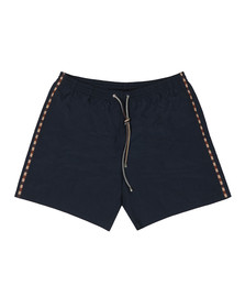 Aquascutum Mens Blue Dante Plain Swim Short