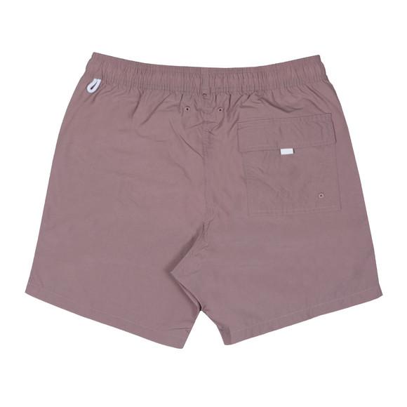 Pretty Green Mens Pink Logo Swim Shorts  main image