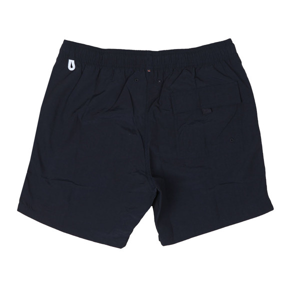 Pretty Green Mens Blue Logo Swim Shorts  main image