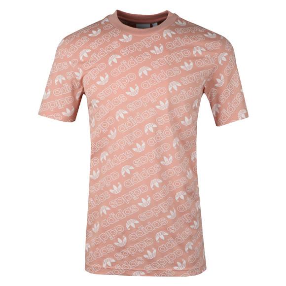Adidas Originals Mens Pink S/S Aop Tee main image