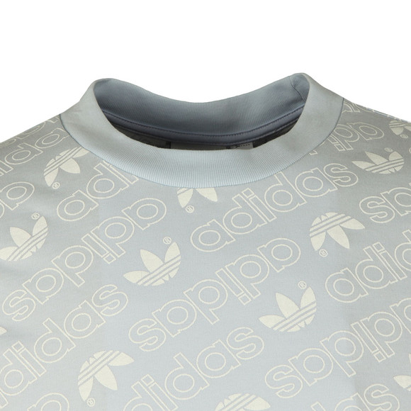 Adidas Originals Mens Blue S/S Aop Tee main image