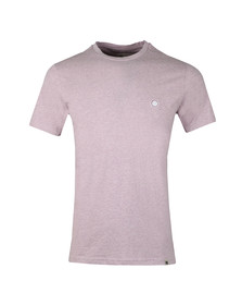 Pretty Green Mens Pink S/S Marl Tee