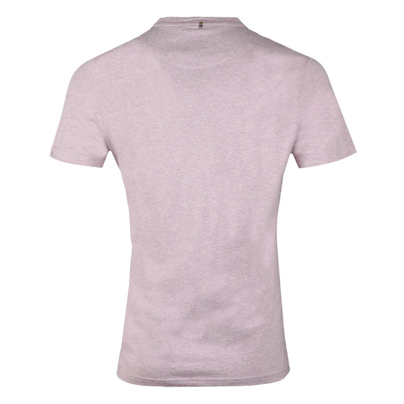 Pretty Green Mens Pink S/S Marl Tee main image