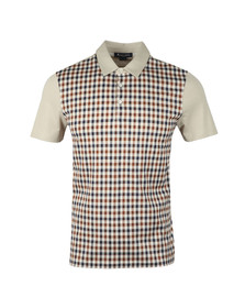 Aquascutum Mens Beige Dillon CC Polo Shirt
