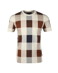 Aquascutum Mens Brown Kenneth Large CC T Shirt