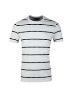 Whillan Aqua Stripe T Shirt