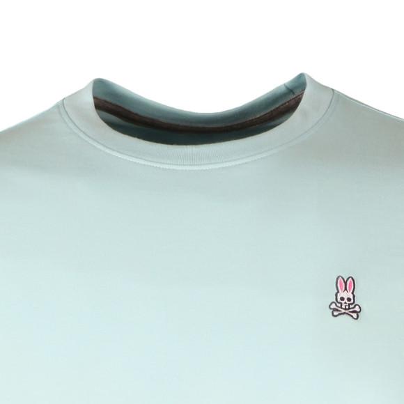 Psycho Bunny Mens Blue Classic Crew Neck T-Shirt main image