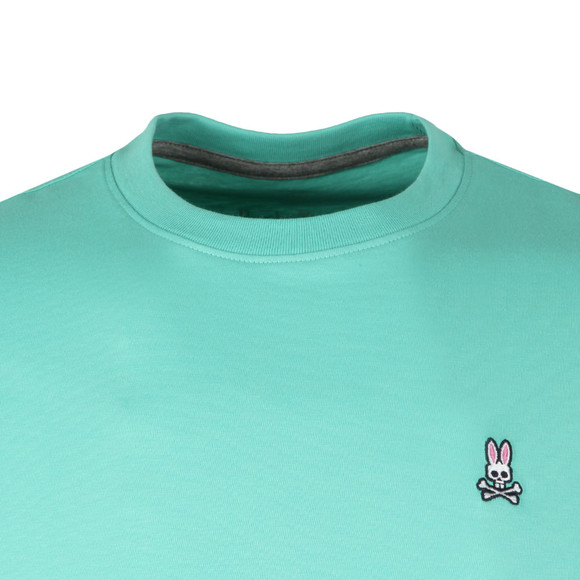 Psycho Bunny Mens Green Classic Crew Neck T-Shirt main image