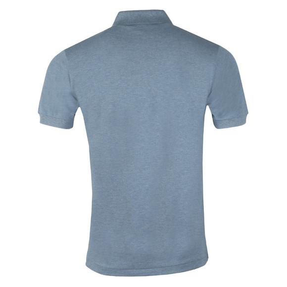 Lacoste Mens Blue S/S L1264 Plain Polo main image