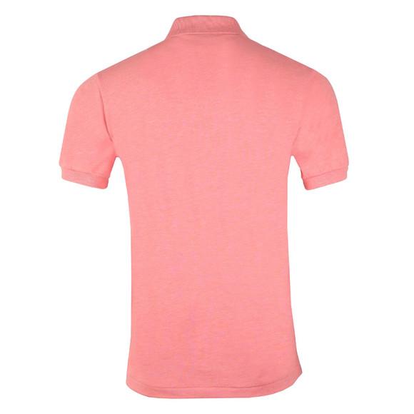 Lacoste Mens Pink Lacoste L1264 Plain Polo main image