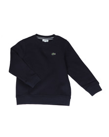 Lacoste Sport Boys Blue Small Logo Sweatshirt