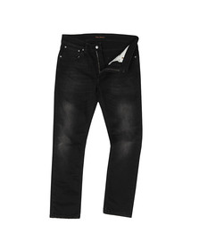 Nudie Jeans Mens Black Lean Dean Jean