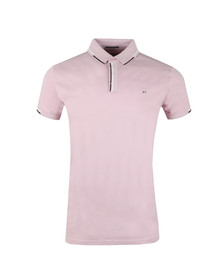 Weekend Offender Mens Pink Cather Polo Shirt