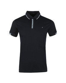 Weekend Offender Mens Blue Cather Polo Shirt