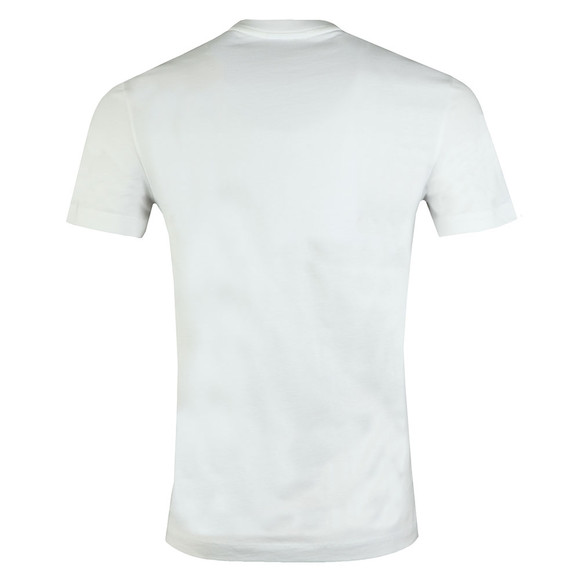Lacoste Mens White TH7461 Print T-Shirt main image