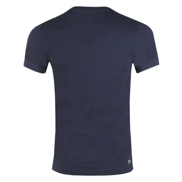 Lacoste Sport Mens Blue S/S TH3382 Tee main image