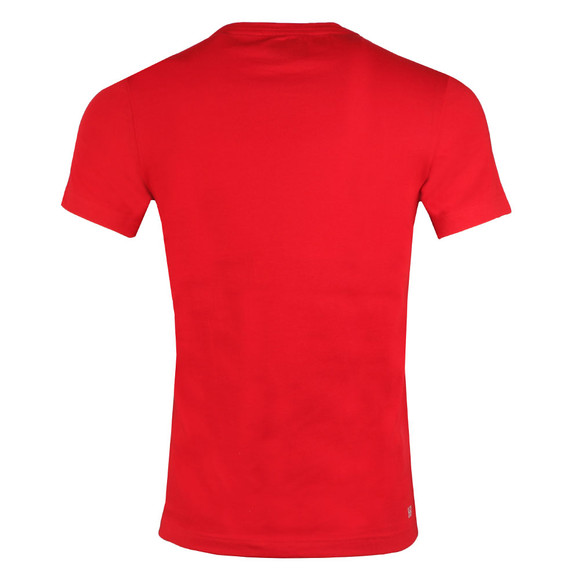 Lacoste Sport Mens Red S/S TH3341 T-Shirt main image