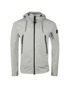 CP Company Mens Grey Pro Tek Hooded Jacket