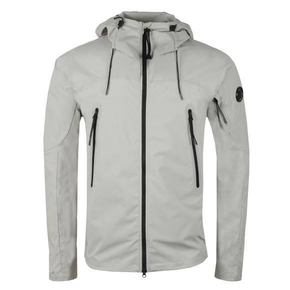 C.P. Company Mens Grey Pro Tek Hooded Jacket main image