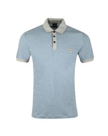 Boss Mens Blue Pother Polo Shirt