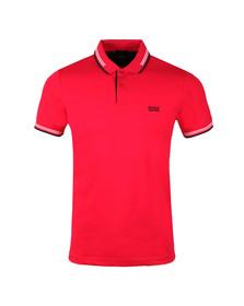 Boss Green Mens Pink Paul Polo Shirt