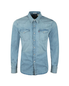 Levi's Mens Blue Barstow Denim Shirt