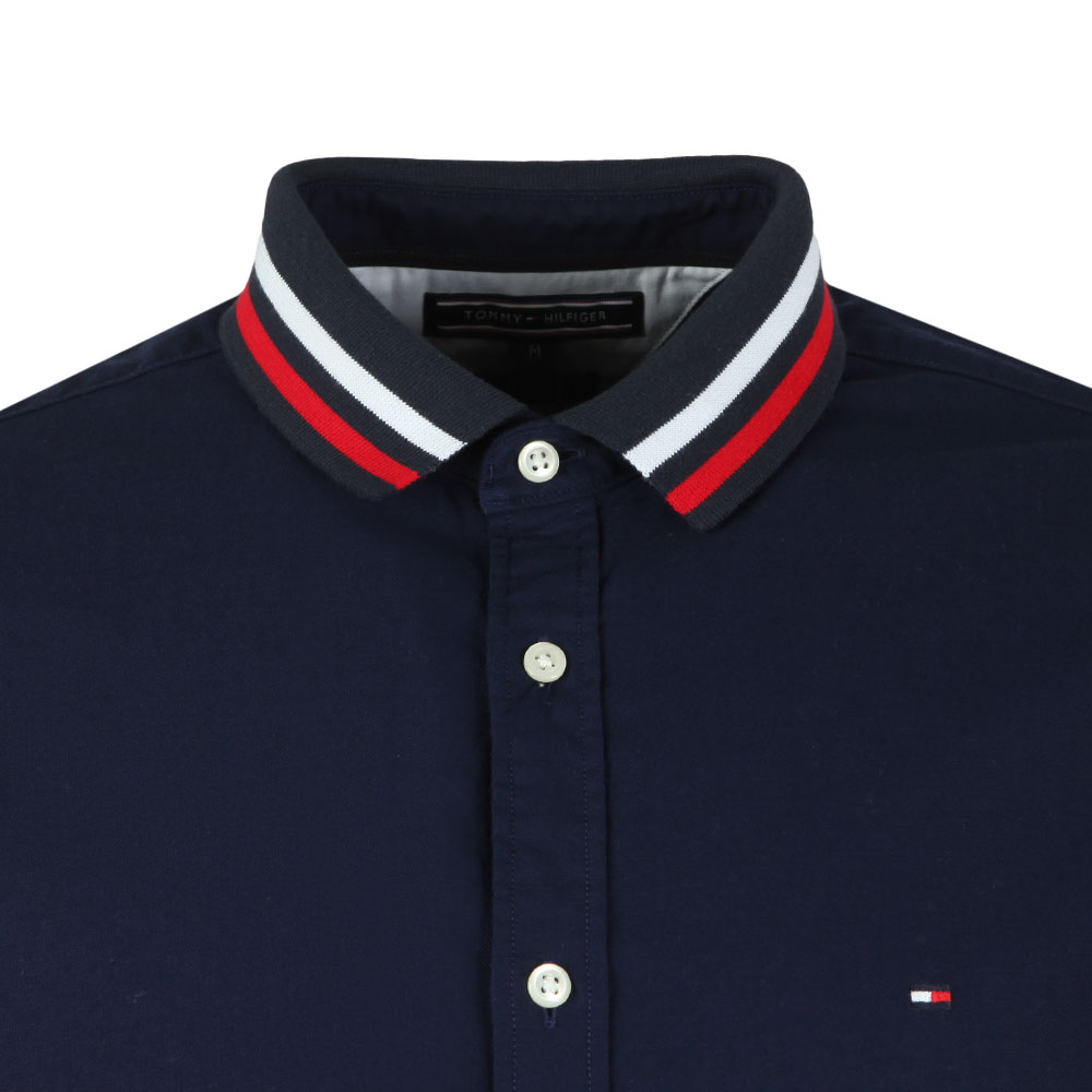 L/S Rib Collar Shirt main image