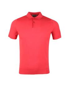 John Smedley Mens Red Payton Polo Shirt