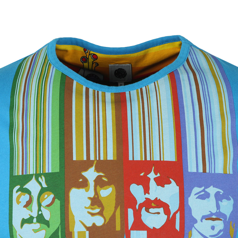 S/S Beatles Face Print Tee main image