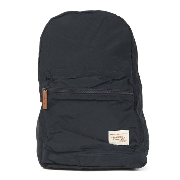 Barbour Lifestyle Mens Blue Beauly Backpack main image