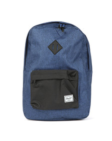 Herschel Mens Blue Heritage Backpack