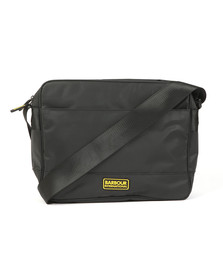 Barbour International Mens Black Bolt Messanger Bag