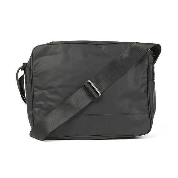 Barbour International Mens Black Bolt Messanger Bag main image