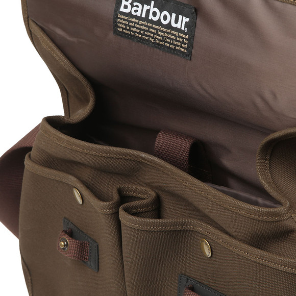 Barbour Lifestyle Unisex Green Cotton Canvas Tarras Bag main image