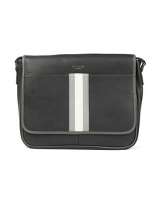 Ted Baker Mens Black Webbing Document Bag