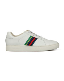 PS Paul Smith Mens White Lapin Trainer