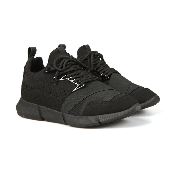 Cortica Mens Black Impulsum Knit  Trainer main image